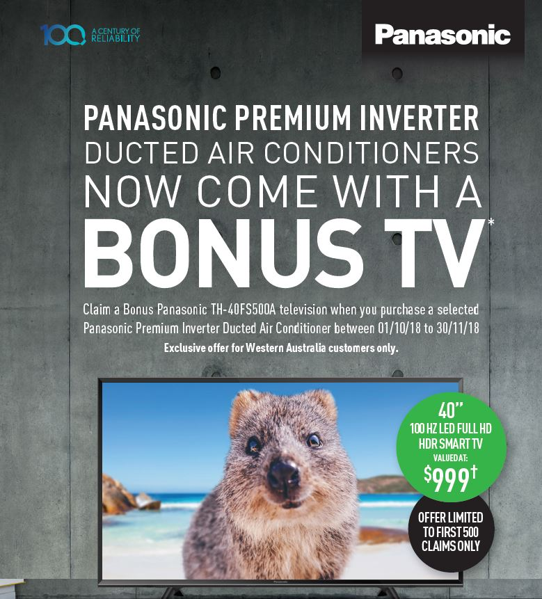 PANASONIC TV PROMOTION