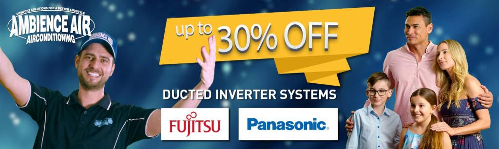 Ambience Air 30% Off Ducted System offer